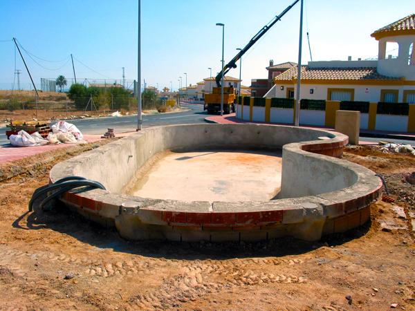Piscinas y ocio escribano piscinas construcci n en gresite for Como se hace una piscina de cemento